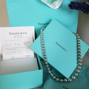 Tiffany Graduated Ball Necklace Hardware
